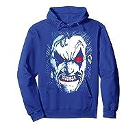 Lobo In Lo Face T-shirt Hoodie Royal Blue