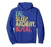 Eat Sleep Repeat Gift Shirt Eat Sleep Ary Repeat T-shirt Hoodie Royal Blue