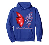 Am The Storm Wolff Parkinson Syndrome Butterfly Shirts Hoodie Royal Blue