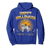 Cockapoo Dog Happy Halloween Shirts Hoodie Royal Blue