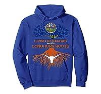Texas Longhorns Living Roots Apparel Shirts Hoodie Royal Blue