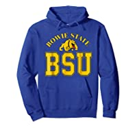 Bowie State 1865 University Apparel Shirts Hoodie Royal Blue
