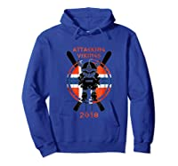 Alpine Skiing Attacking Vikings 2018 Shirts Hoodie Royal Blue