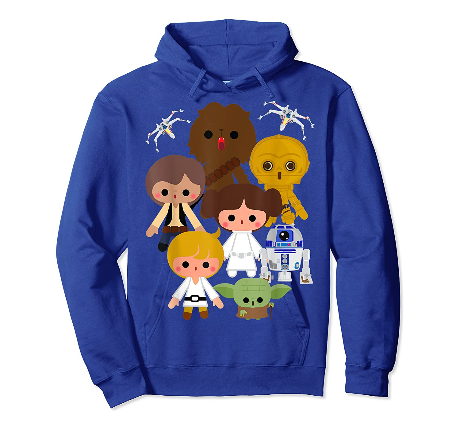 S Cute Kawaii Style Heroes Graphic C1 Shirts Unisex Pullover Hoodie