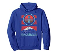 Bushido Kanji Japan Samurai Spirit Retro 80s Style Gift Shirts Hoodie Royal Blue