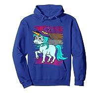Halloween Unicorn Pride Colors Shirts Hoodie Royal Blue