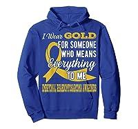Means Everything Embryonal Rhabdomyosarcoma Shirts Hoodie Royal Blue