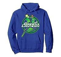 Green Lantern Glow Shirts Hoodie Royal Blue