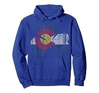 Vintage Irish Flag Of Colorado T Shirt T-shirt Hoodie Royal Blue