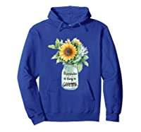 Happiness Is Being A Gramma Gift For Grandma Shirts Hoodie Royal Blue