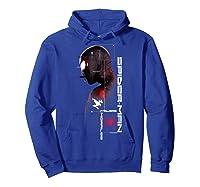 Spider Man Miles Morales Specs Shirts Hoodie Royal Blue