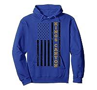 Kings Canyon National Park Souvenir Gift T-shirt Hoodie Royal Blue