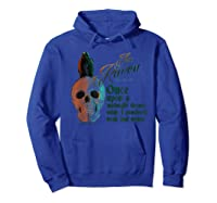 The Raven, Edgar Poe, Fan Art T-shirts And Gifts T-shirt Hoodie Royal Blue