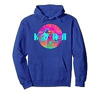 Kona Beach Palm Beach Travel Surf Shirts Hoodie Royal Blue