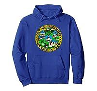 Sacrato California City Seal I Love Sacrato Pride Shirts Hoodie Royal Blue