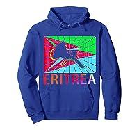 Eritrea Map Eritrean Shirts Hoodie Royal Blue