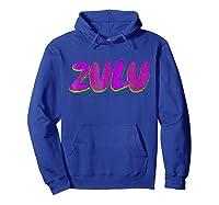 Mardi Gras Shirt - Zulu Parade T-shirt Hoodie Royal Blue