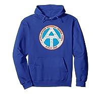 Appalachian Trail Marker Retro Shirt - National Scenic Trail Hoodie Royal Blue