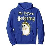 My Patronus Is A Hedgehog Harry Fan Cute Gift Shirts Hoodie Royal Blue