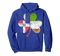 Irish Dominican Flag Ireland Shamrock St Patricks Day Shirts Hoodie Royal Blue