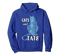 Tattoo Cats And Tats Tattoos Shirts Hoodie Royal Blue