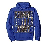 Straight Outta Army Veteran American Military Pride Gift Shirts Hoodie Royal Blue