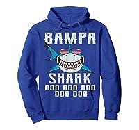 Bampa Shark Doo Doo Shirt - Matching Family Shark Shirts Hoodie Royal Blue