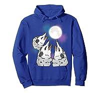 Three Opossum Moon S Shirts Hoodie Royal Blue