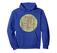 Fuck The Colorblind Shirts Hoodie Royal Blue