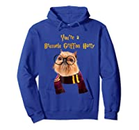 Brussels Griffon Dog Halloween Otter You're A Brussels Shirts Hoodie Royal Blue
