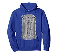Mademark X Rick And Morty Rick And Morty Solenya The Pickle Man Graphic Shirts Hoodie Royal Blue