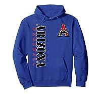 Arizona 1998 Diamondback Baseball Shirts Hoodie Royal Blue