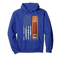 Vintage Pedal Steel Shirt - American Us Flag Shirt Hoodie Royal Blue