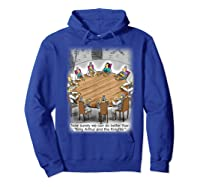King Arthur & His Knights Of The Round Table, T-shirt Hoodie Royal Blue