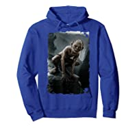 The Lord Of The Rings Gollum T-shirt Hoodie Royal Blue