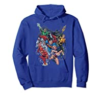 Justice League Refuse To Give Up Shirts Hoodie Royal Blue