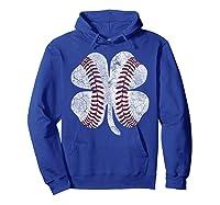 St Patrick\\\'s Day Shamrock Baseball Saint Paddy\\\'s T-shirt Hoodie Royal Blue