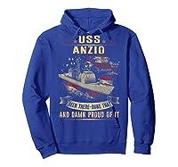 Anzio Cg 68 Shirts Hoodie Royal Blue