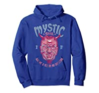 Twilight Zone Mystic Seer Yes Or No Question Graphic T-shirt Hoodie Royal Blue