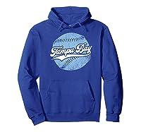 Tampa Bay Baseball Vintage Florida Ray Retro Gift Shirts Hoodie Royal Blue