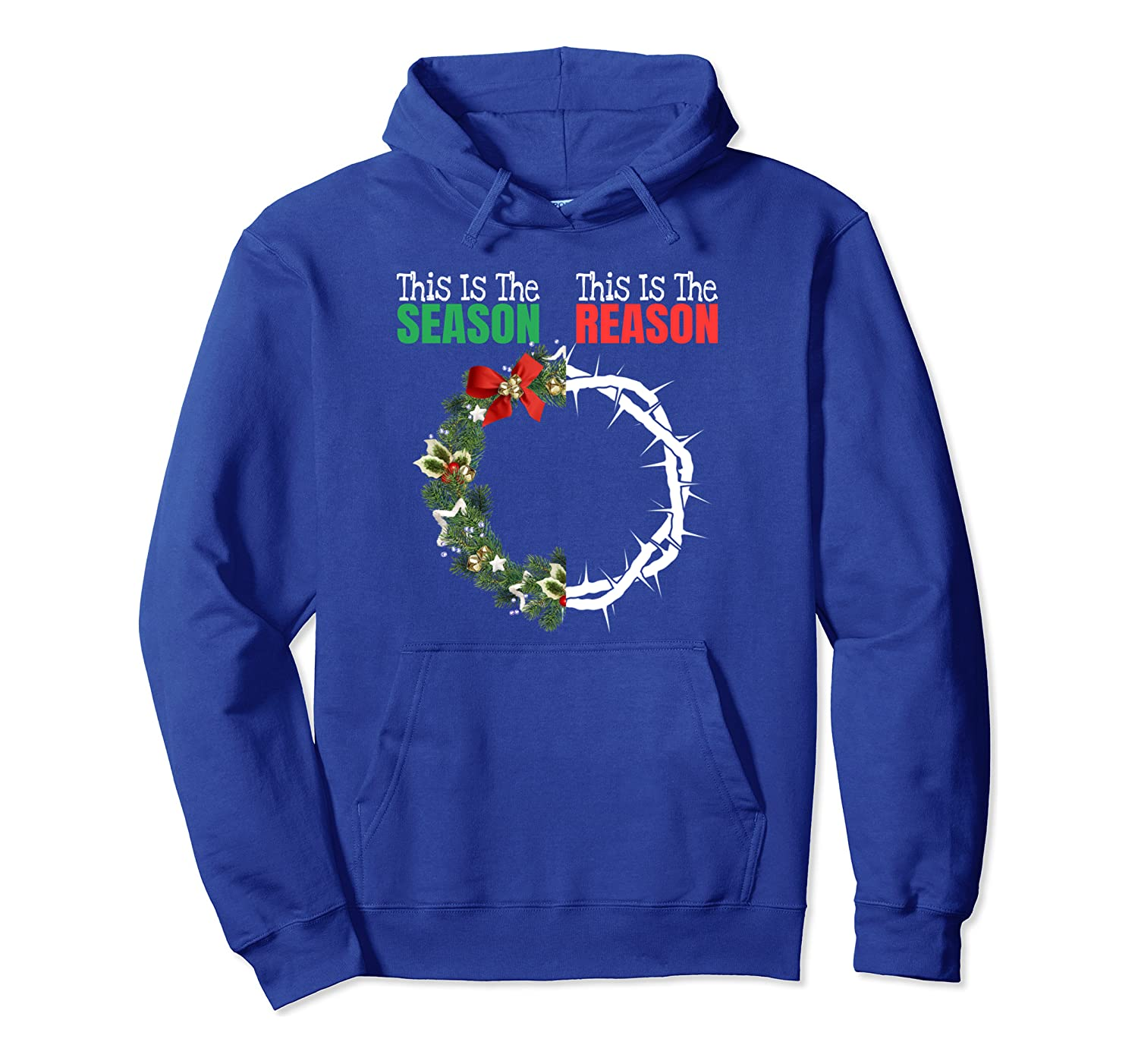 Christian Christmas Jesus Is The Reason For The Season Gift Pullover Hoodie