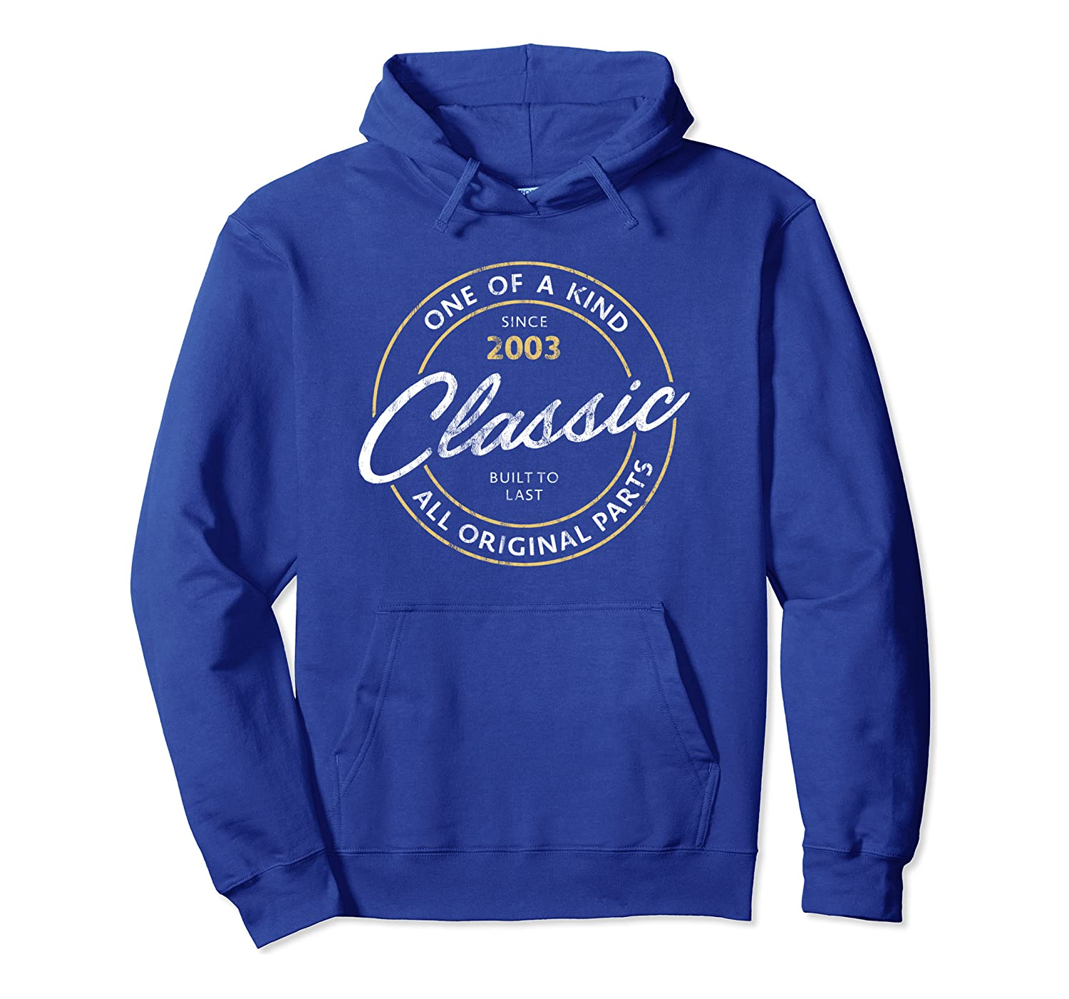 Classic Made In 2003 Limited Edition Vintage 17th Birthday Pullover Hoodie