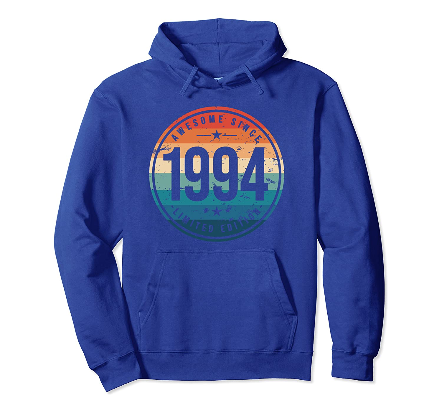 Awesome Since 1994 – 26 Years Old, 26th Birthday Gift Pullover Hoodie-Yolotee