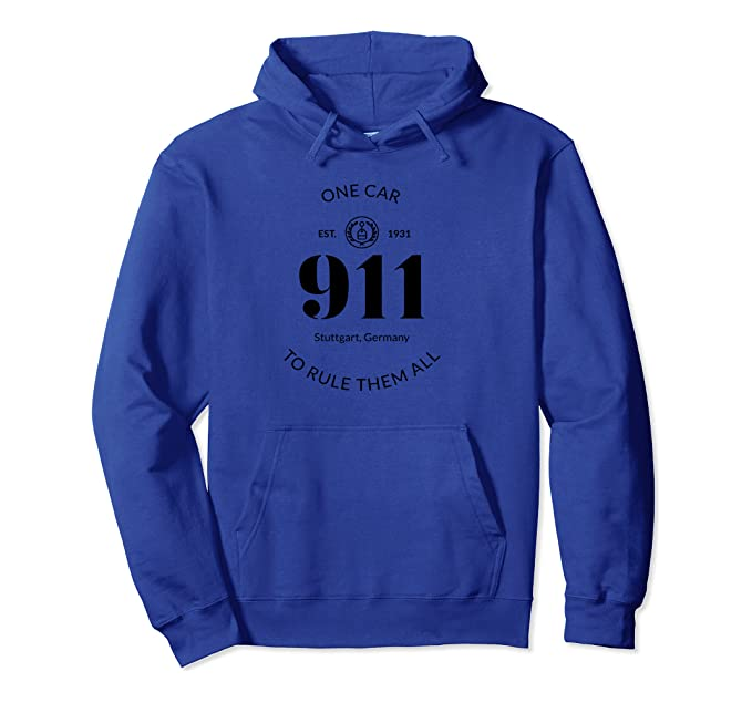 911 One Car To Rule Them All Sports Car Hoodie