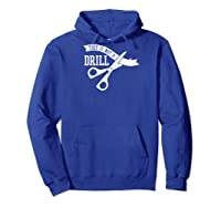 This Is Not A Drill With Ribbon Scissors Arts And Crafts Baseball Shirts Hoodie Royal Blue