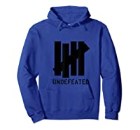 5 Strokes Undeted Shirt. 5 Bar Winner Gift For All Sports Hoodie Royal Blue