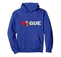 Rogue Life Armed Forces Military Gaming Gym Bad Boy Tee Army T-shirt Hoodie Royal Blue