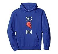 So Ma Cute Soulmates Valentine S Day 2020 Partners Premium T Shirt Hoodie Royal Blue