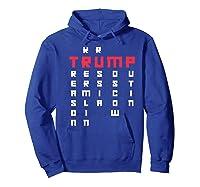 Impeach President Resist Russian Putin 2020 Anti Trump Premium T Shirt Hoodie Royal Blue