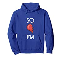 So Ma Cute Soulmates Valentine S Day 2020 Partners T Shirt Hoodie Royal Blue